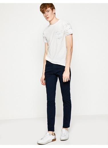 Koton Slim Fit Pantolon Lacivert